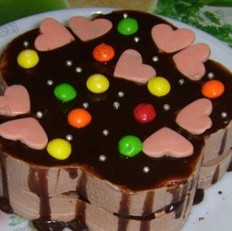 缤纷巧克力慕斯蛋糕