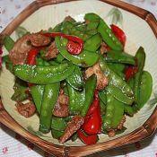 猪肉炒荷兰豆