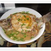 煎蛋炖鲫鱼
