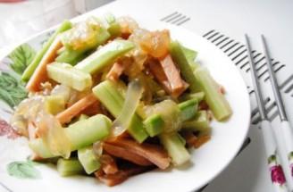 凉拌黄瓜蜇皮的做法