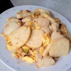 鸡蛋炒馍片