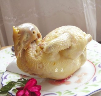高汤白斩鸡的做法