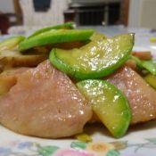 西葫芦炒大肉肠