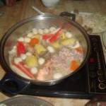 玉米猪骨汤火锅