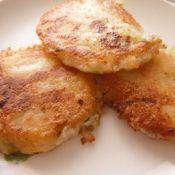香脆土豆泥饼