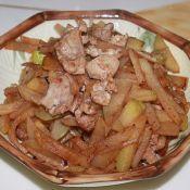 猪肉炒椰菜果