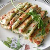 火腿鸡蛋蔬菜饼