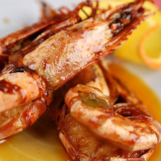 虾油焖大虾