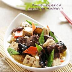 豆腐木耳烩猪血