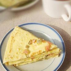 酸黄瓜鸡蛋饼