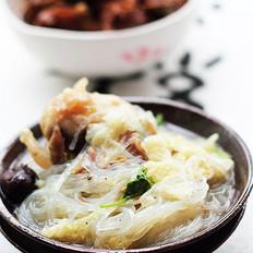 羊骨粉丝汤