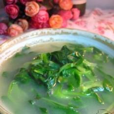 筒骨青菜汤
