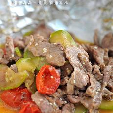 香烤时蔬里脊肉