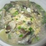 蘑菇鸡蛋汤