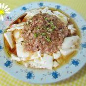 虾仁蒸嫩豆腐