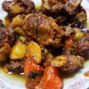 红烧鹅块炖土豆