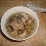 肉末香菇汤