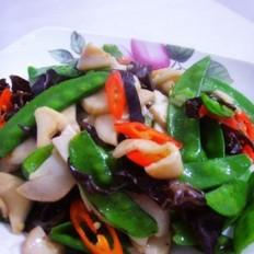 小炒美味鲜蔬