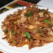 瘦肉炒咸菜