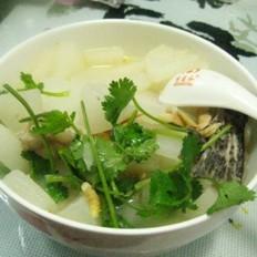 鮸鱼白萝卜汤