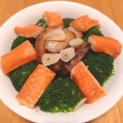 香菇蟹柳西兰花