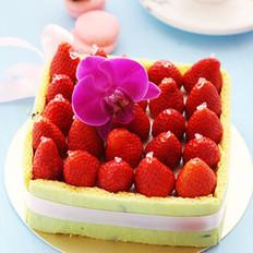 酸奶油草莓乳酪蛋糕