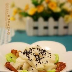 潮汕肉卷炒年糕