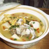 三煎鱼头汤
