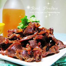麻油豆豉爆鸡胗