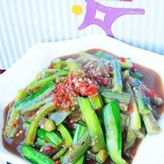 剁椒煸炒蛇瓜条
