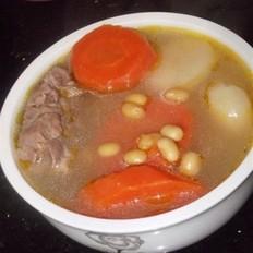 黄豆胡萝卜当归马蹄猪骨汤