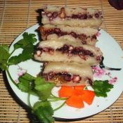 糯米红豆糕