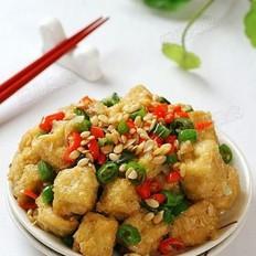 西瓜子仁香辣豆腐