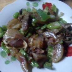 青椒猪头肉
