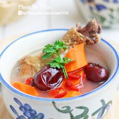 腊鸡腿胡萝卜汤