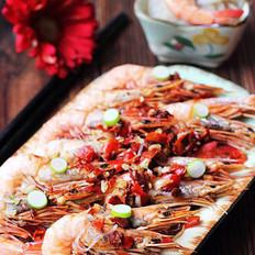 鲜辣粉丝蒸海虾