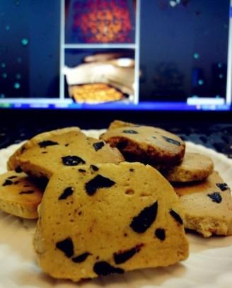 黑枣饼干的做法