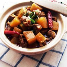 香辣牛肉燉蘿卜