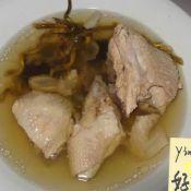 石斛花旗参炖鸡汤