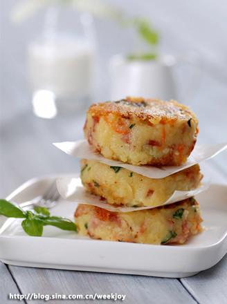罗勒土豆饼