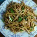 酱炒豆腐皮