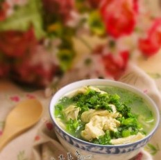 雪里红腐竹汤