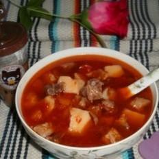 牛肉燉土豆柿子