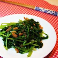 海米炒萝卜缨