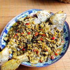 雪菜黄花鱼