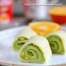 青豆泥卷餅