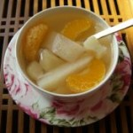 馬蹄香梨橘子水