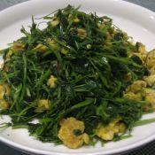 金花菜炒鸡蛋