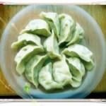 韭菜金针菇饺子