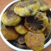 南瓜红豆煎饼